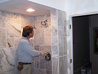 measuring new shower